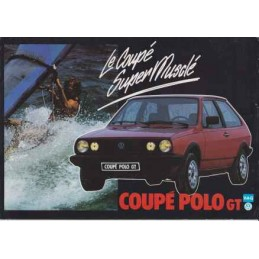 Catalogue / Sheet VW Polo...