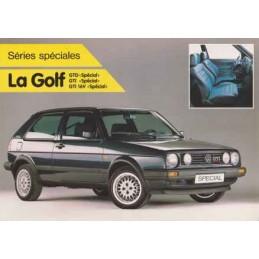 Catalogue / Sheet VW Golf...