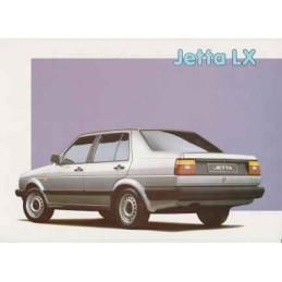 Catalogue / Sheet VW Jetta...