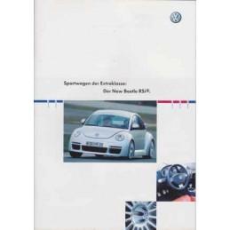 Catalogue / Brochure VW New...