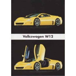 Catalogue / Sheet VW W12...