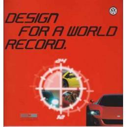 Catalogue / Brochure VW W12...