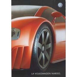 Catalogue / Leaflet VW W12...