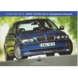 Catalogue / Leaflet Alpina...