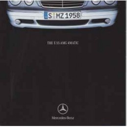 Catalogue / Leaflet AMG E55...