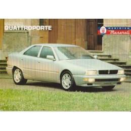 Catalogue / Sheet Maserati...