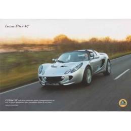 Catalogue / Sheet LOTUS SC...