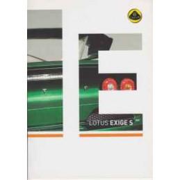 Catalogue / Brochure LOTUS...