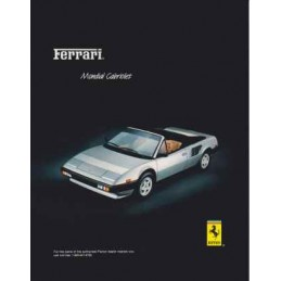 Catalogue / Sheet Ferrari...