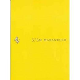 Catalogue / Leaflet Ferrari...
