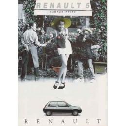 Catalogue / Leaflet Renault...