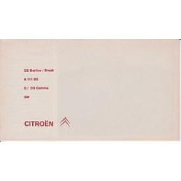 Catalogue / Leaflet CITROËN...
