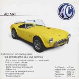 Catalogue / Sheet AC Cobra...