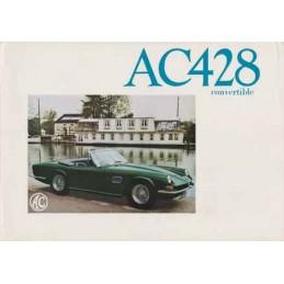 Catalogue / Brochure AC 428...