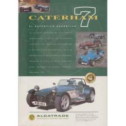 Catalogue / Sheet Caterham...