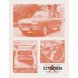 Catalogue / sheet CITROËN...