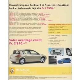 Catalogue / Sheet Renault...