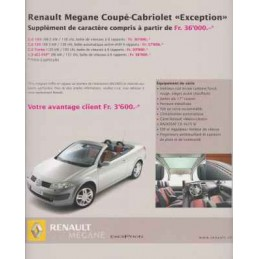 Catalogue / Sheet Renault...