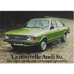Catalogue / Leaflet Audi 80...