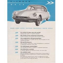 Catalogue / sheet CITROËN...