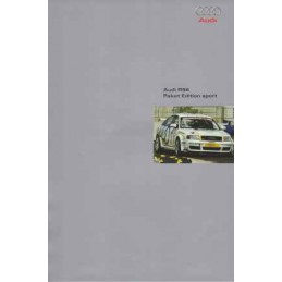 Catalogue / Sheet Audi RS6...