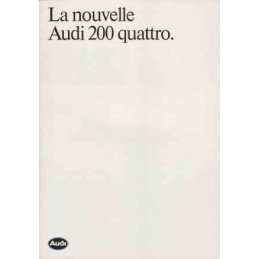 Catalogue / Leaflet Audi...