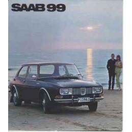 Catalogue / Leaflet SAAB 99...