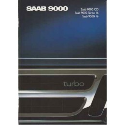 Catalogue / Brochure SAAB...