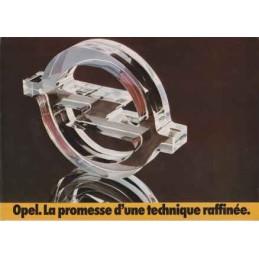 Catalogue / Leaflet OPEL...