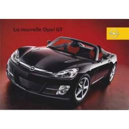 Catalogue / Leaflet OPEL GT...