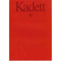 Catalogue / Brochure OPEL...