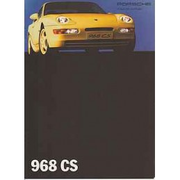 Catalogue Porsche 968 CS...