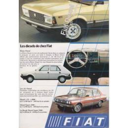 Catalogue / Sheet FIAT...