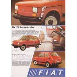 Catalogue / Sheet FIAT 126...