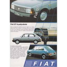 Catalogue / Sheet FIAT 127...