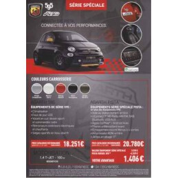 Catalogue / Sheet ABARTH...