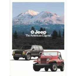 Catalogue / Leaflet JEEP...