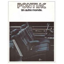 Catalogue / Leaflet Pontiac...