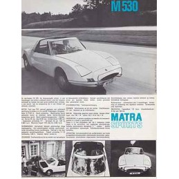 Catalogue / Sheet MATRA Jet...