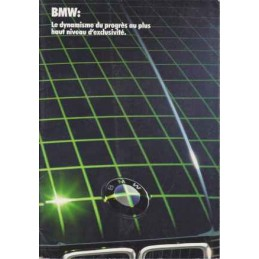 Catalogue / Brochure BMW...