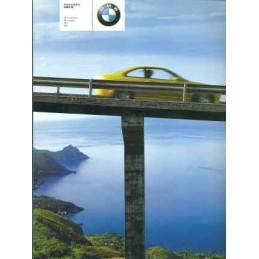 Catalogue / Brochure BMW M3...