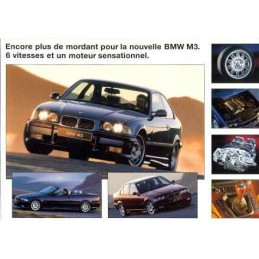 Catalogue / Sheet BMW M3...