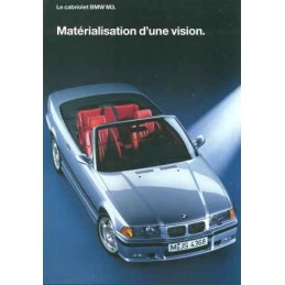 Catalogue / Leaflet BMW M3...