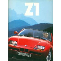 Catalogue / Brochure BMW Z1...