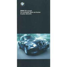 Catalogue / Leaflet BMW Z3...
