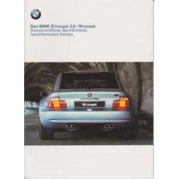 Catalogue / Brochure BMW Z3...