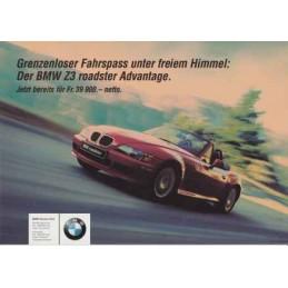 Catalogue / Sheet BMW Z3...