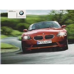 Catalogue / Brochure BMW Z4...