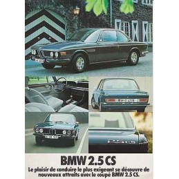 Catalogue / Sheet BMW 2.5...