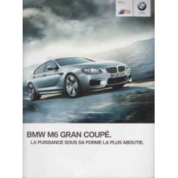Catalogue / Brochure BMW M6...